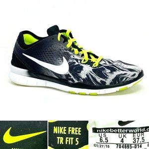Nike Free 5.0 Tr Fit 5 PRT Women's US 6.5 Running